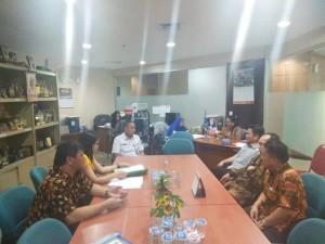 Kunker Komisi I DPRD Tomohon di DPRD DKI jakarta