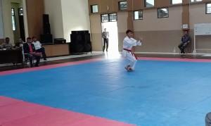 Ini Hasil Hingga Hari Kedua Pertandingan Karate Haornas di Tomohon