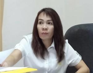Kepala Bidang Pajak Badan Keuangan Daerah Kota Tomohon Vonny Sompotan SE