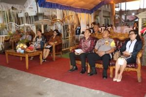 Undangan yang menghadiri Perayaan HUT ke-171 Jemaat GMIM Baitani Matani