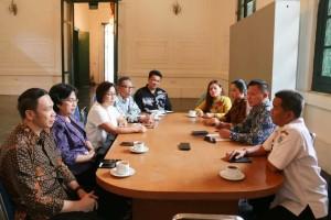 Kunker Komisi III DPRD Tomohon di Museum Seni dan Keramik