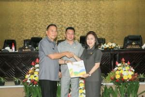 Wali Kota dan Pimpinan DPRD Tomohon