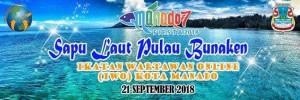 Didukung Wali Kota GSVL, Besok IWO Manado Siap 'Sapu' Laut Pulau Bunaken