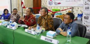 Pencalonan Kembali SBANL di DPD-RI Didukung Sesama Senator Asal Sulut