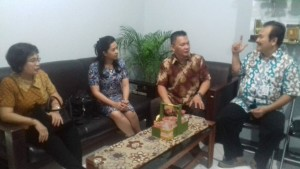 DPRD Tomohon saling tukar indormasi dan program dengan DPRD Surabaya