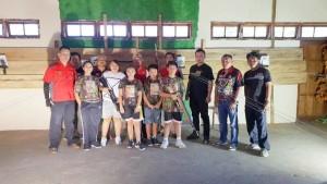 Ketua Panitia Haornas, Pengurus Perbakin Tomohon dan para atlet