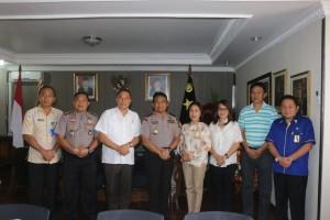 Eman Paparkan Rencana Pelaksanaan Bola Voli Kapolda Cup Dalam Rangka Haornas