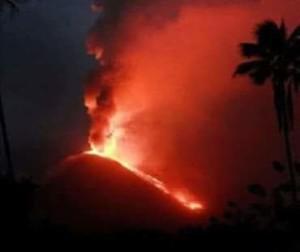 Gunung Soputan . letusan Gunung Soputan 2018,  Asep Saifullah