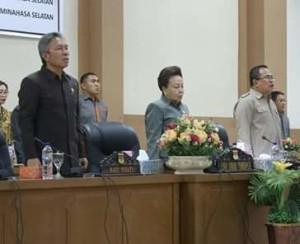 DPRD Minsel Setujui Ranperda Perubahan