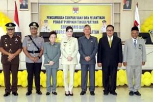 Dilantik Bupati Minsel, Denny Kaawoan Resmi Jabat Sekertaris Daerah4