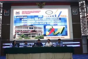 Lumentut Ingatkan SKPD Dengan Realisasi Anggaran Rendah Agar 'Main Aman'