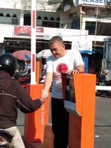 Pasar Bersehati Miliki Portal Parkir Elektronik, Keintjem: Tidak Ada Lagi Pungli