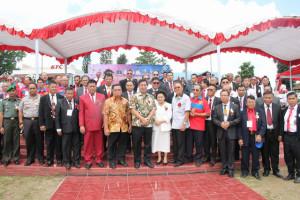 Kandouw Hadiri Ibadah Agung HUT ke-65 Pelprip GPdI Sulut