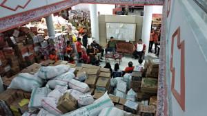 Bantuan untuk korban bencana alam di Sulteng