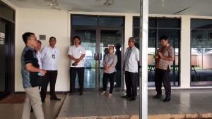 SBANL saat melakukan Monitoring dan Supervisi di Kantor DPD-RI Perwakilan Sulut