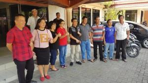 Senator SBANL menerima kunjungan KPA Sulawesi Utara dan tokoh agama dari Minahasa Utara