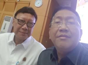 Menteri Dalam Negeri dan Sekdaprov Sulut