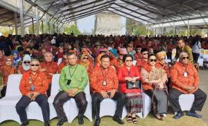 Gubernur dan Ketua TP-PKK Sulut Hadiri TTG ke-XX dan PINDesKel Tahun 2018 di Bali