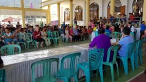 Jemaat di Wilayah Tomohon Empat berbondong-bondong datang memeriksakan kesehatan
