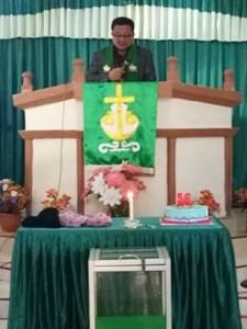 GMIM Eben Haezar Posokan, Wakil Wali Kota Bitung, Ir Maurits Mantiri