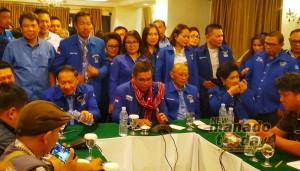 Plt Ketua DPD Demokrat Sulut, EE Mangindaan, Demokrat Sulut, Hinca Panjaitan,