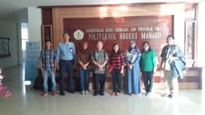 satu-atunya Politeknik di Indonesia, Polimdo kembaii mendapat kepercayaan melakukan penelitian