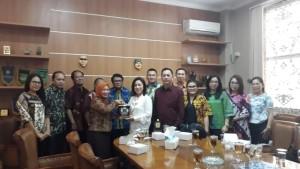 Kunjungan Banggar DPRD Tomohon di DPRD Purwakarta