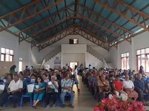 Program 'Sabuah Lansia' Dinsos Kota Manado Singga di Kecamatan Malalayang