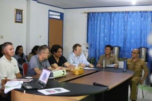 International Fund for Agricultural Development, Donal Brown, Audy Pangemanan ,  Dinas Perikanan Kota Bitung,