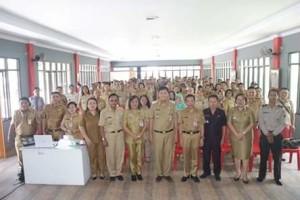 Kepala Dinas Pertanian Ir. Elly Sangian,Penanggulangan Hewan Berisiko Rabies, Drs Jocke Legi
