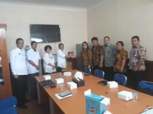 Kunker KOmisi I DPRD Tomohon di Kota Bogor