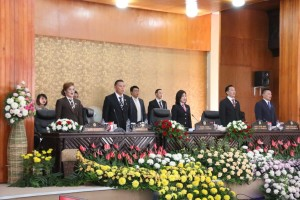 Rapat Paripurna mendengarkan Pidato Presiden menyambut HUT Proklamasi