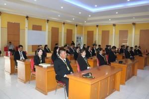Para peserta Diklat PIM IV Angkatan XII Kota Tomohon