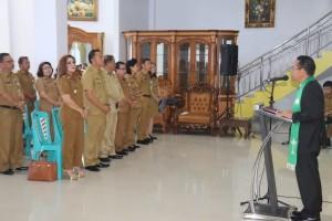 Ibadah Keprihatinan Pemkot Tomohon atas bencana di Sulawesi Tengah