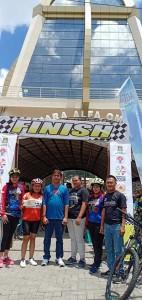 Kadispora bersama para juara putri