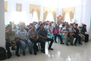 Rombongan wartawan Pos Liputan DPRD Medan