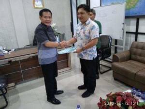 oyke Frits Mamahit, Peter KB Assa, Plt Kadis PUPR Kota Manado, Frans Mawitjere , asisten III pemkot manado