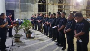 Ketua Komisi P/KB Sinode GMIM melantik Pengurus P/KB Rayon Tomohon