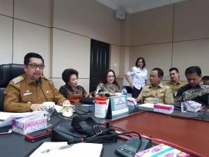 Pimpin Rapat Forum Lalu Lintas, Wawali Mor Bahas Penindakan Untuk Kendaraan Parkir Sembarangan