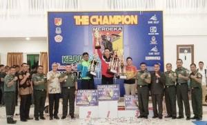 Turnamen Pencak Silat, Piala Pangdam XIII/Merdeka 2018 , Pangdam XIII/Merdeka, Mayjen TNI Tiopan Aritonang,