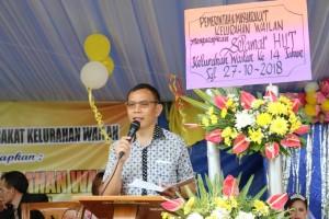 Asisten Kesra Drs ODS Mandagi mewakili Wali Kota Tomohon