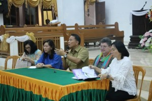 Ketua Panitia Jimmy F Eman SE Ak memimpin rapat perdana