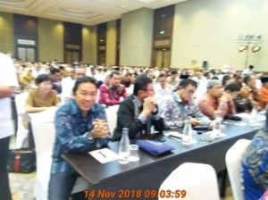 Bupati James Sumendap Hadiri Rakornas dan Evaluasi P3MD Tahun 2018