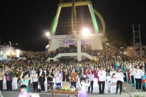 Ribuan masyarakat Tomohon antusias ikut KPI