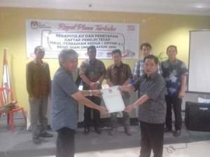 KPU Minahasa Tenggara Plenokan Daftar Pemilih Tetap Hasil Perbaikan Kedua