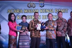 AKBP Philemon Ginting SIK MH, AKBP Stefanus Michael Tamuntuan SIK MSi,  Polres Kota Bitung