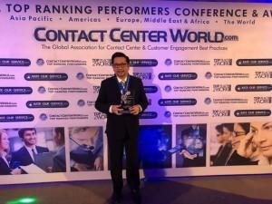 Manado Siaga 112, Contact Center World, Best Emergency Service Center in the World 2018, CCW Award 2018, Mor Bastiaan
