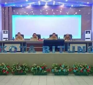 Wakil Walikota Bitung, Ir Maurits Mantiri MM,  Kinerja ASN bitung, asn bitung