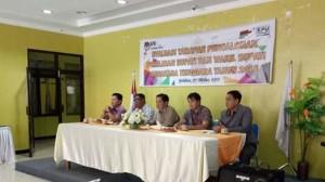 Perdana Masuk Kantor, Lima Komisoner KPU Mitra Langsung Action