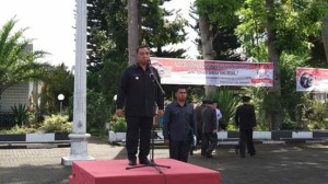 Robby Dondokambey Irup Peringatan Hari Pahlawan Tahun 2018 di Minahasa